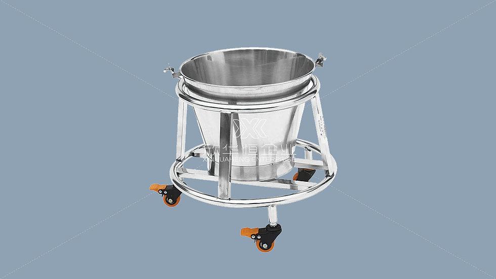 不锈钢移动拎桶
