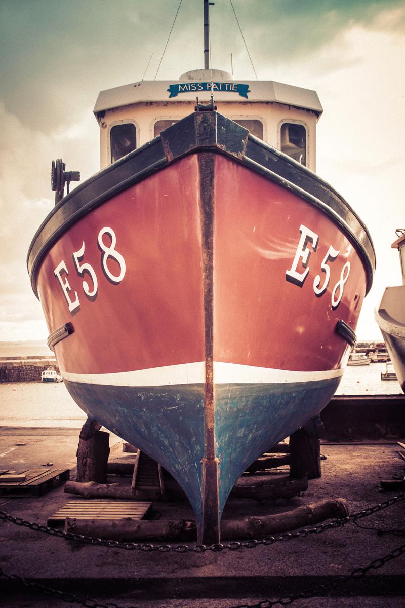 5. lyme regis fishing boat.ken waller