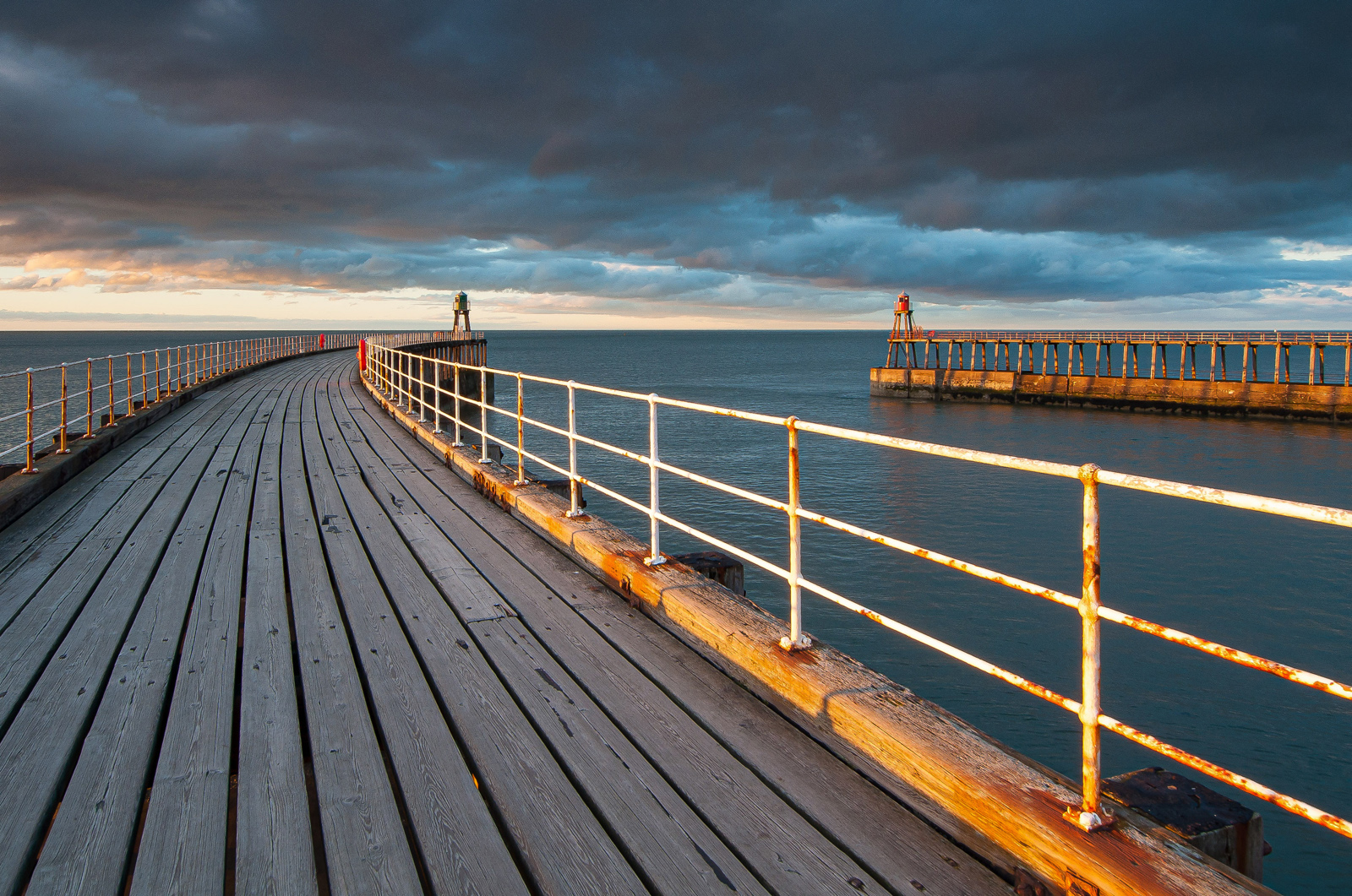 8. whitby pier sunset.nick webster