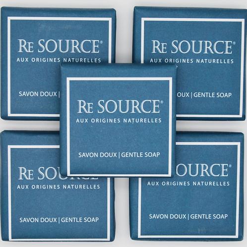 Pure Vegetal Soap - 20g - Ecolabel Formulation - Re Source  Organic Collection
