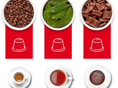 100% Compostable Nespresso® Compatible Capsules