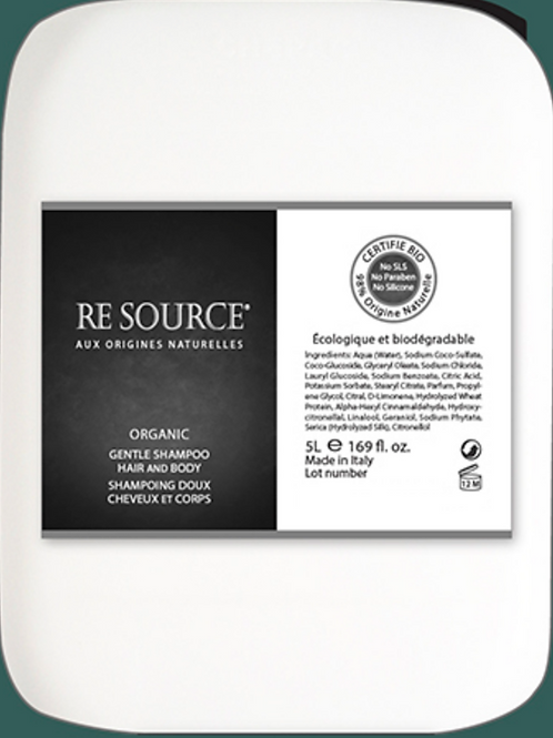 Organic Shampoo - 5L Refill Bottle - Re Source Organic Collection