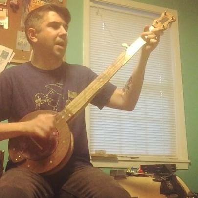 banjo, fretless, music,