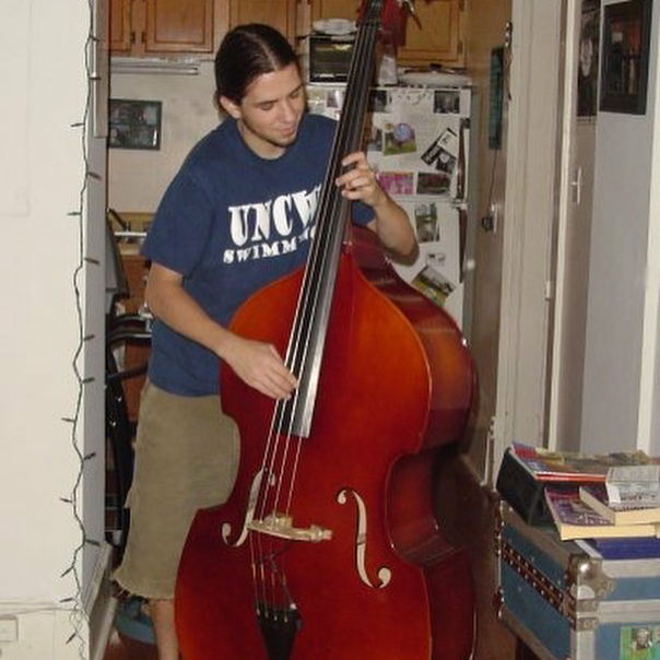 upright bass, music, perform