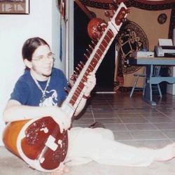 sitar, hippie, music, perform