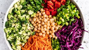 Thai Chickpea Broccoli Salad