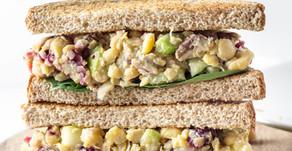 Chickpea Salad Sandwhiches