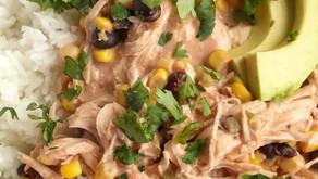 Creamy Fiesta Chicken (Slow Cooker)