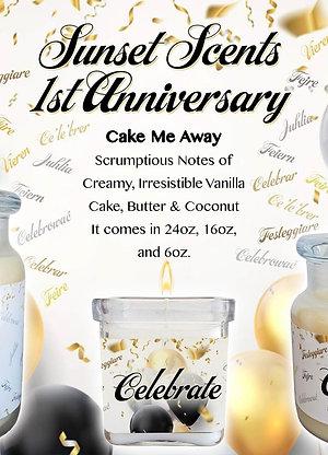 1st Anniversary Cake Me Away