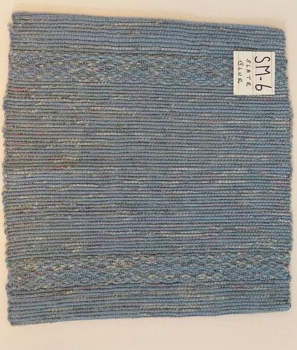 Slate Blue square placemat