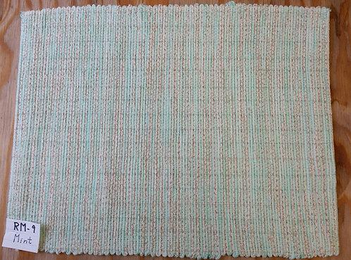 Mint rectangular placemat