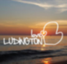 Ludington, love, vacation rental, lakehouse, beach