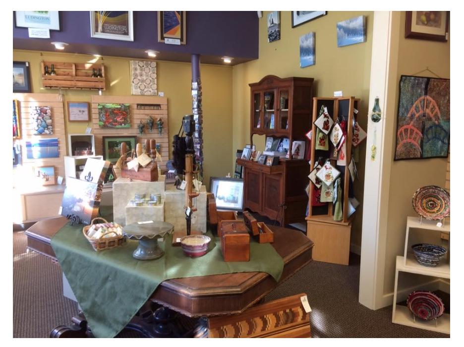 Arts shop
