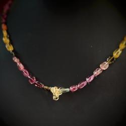 Collana di Tormaline multicolor