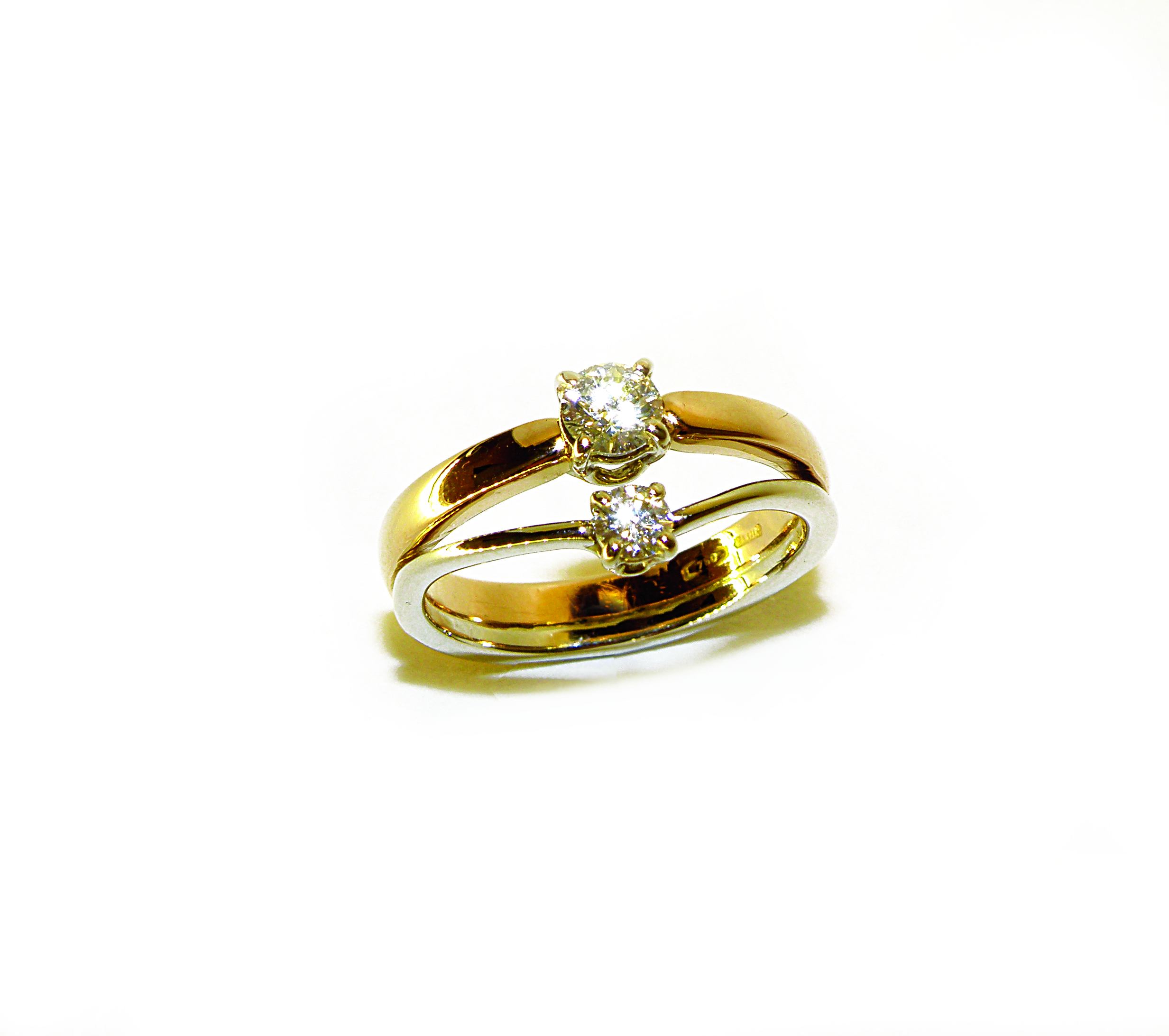 Fedina con Diamanti