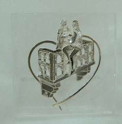 Giulietta e Romeo su Plexiglass
