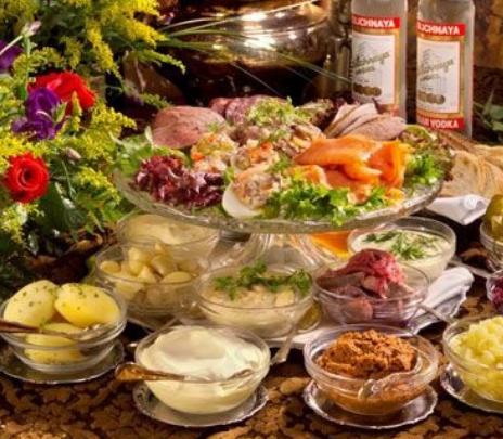 Cinco platillos extravagantes de la gastronomía rusa