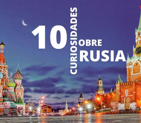 10 curiosidades de Rusia