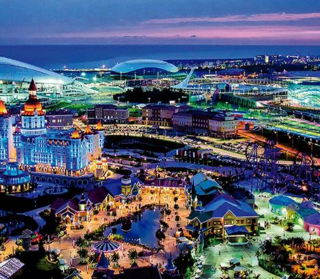 Sochi: ciudad costera y olímpica
