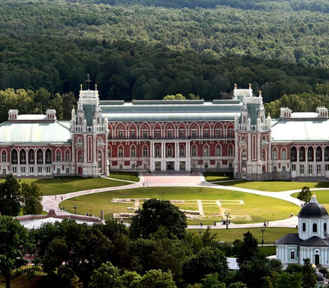 El sueño arquitectónico de Catalina II cumplido en el siglo XXI