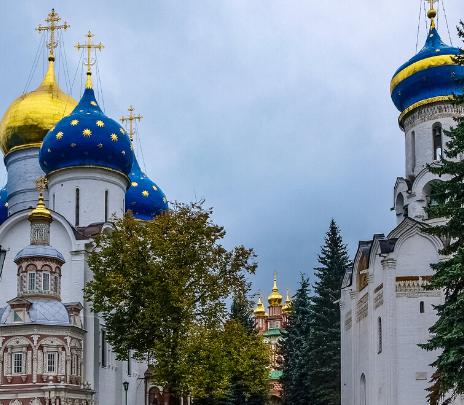 Monasterios rusos para conocer desde casa