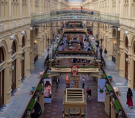 Los Grandes Almacenes GUM: shopping en un palacio imperial