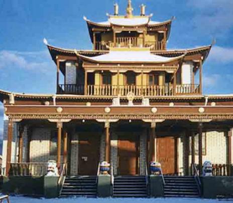Monasterio de Ivolga y su misterio sobre el Budismo