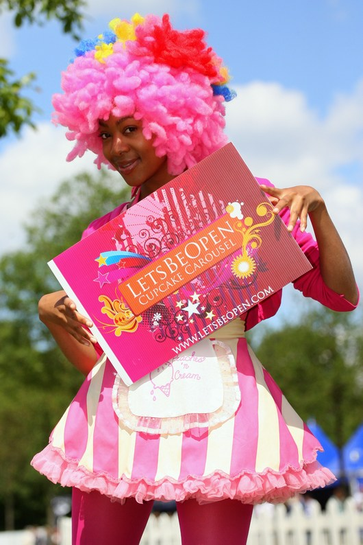 Cupcake carousel foto 2