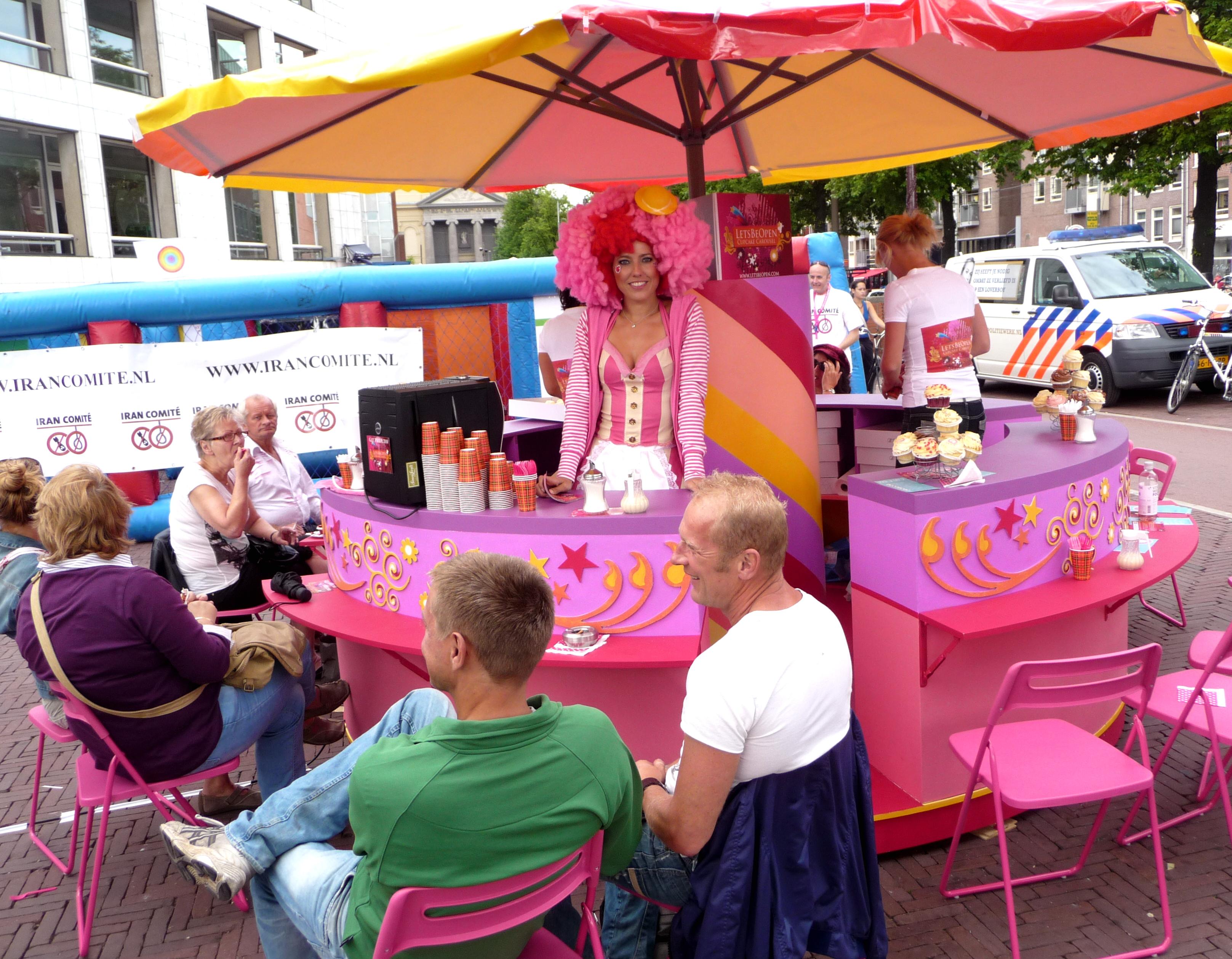 Cupcake carousel foto 3