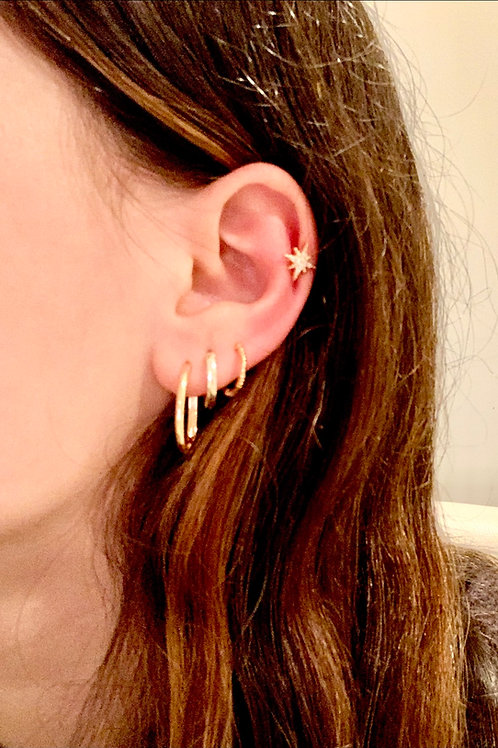 Gold Hoop Earrings