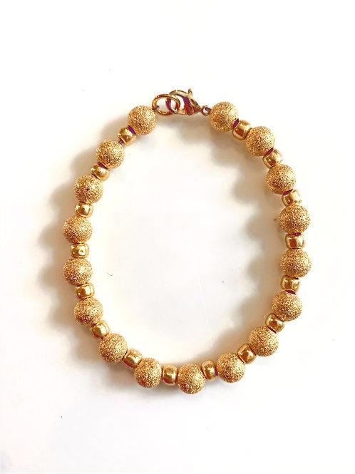 Gold Sparkly Bracelet