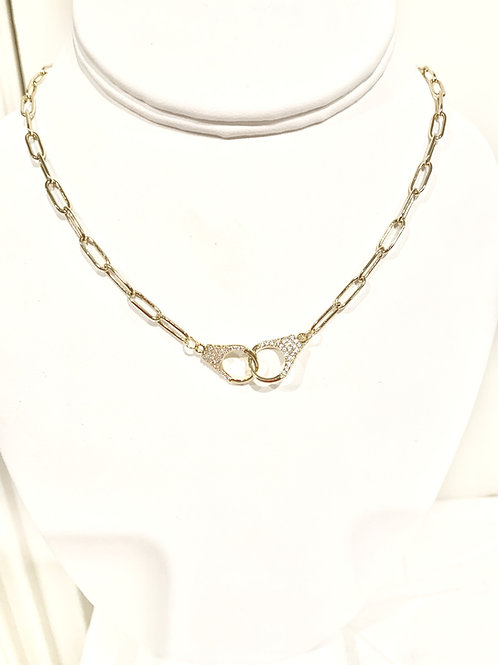 Link & Chain Necklace