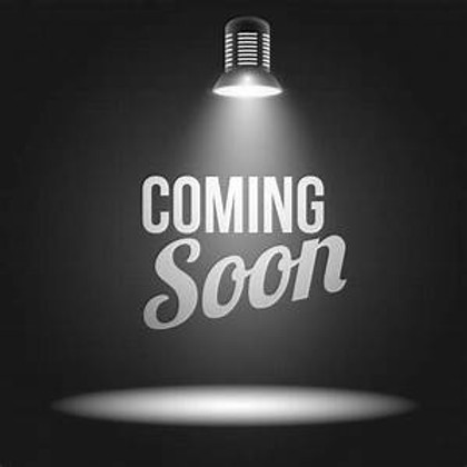 Watch this space for our first event