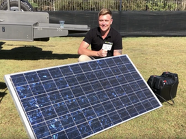 Cheap DIY Camper Solar Setup