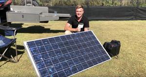 DIY Camper Solar Setup