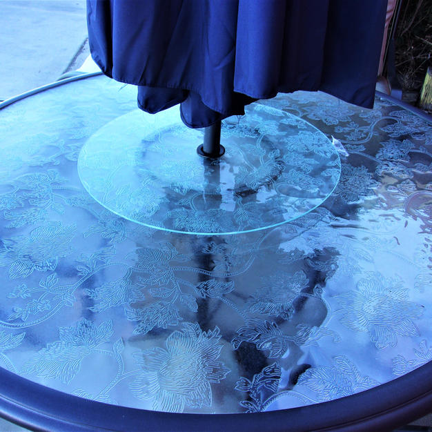 Etched Glass top = $389.99
