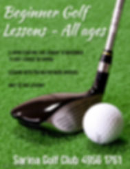 Copy of GOLF TOURNAMENT - Made with Post