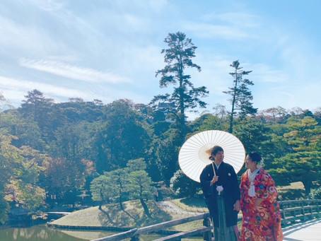 滋賀県 玄宮園撮影