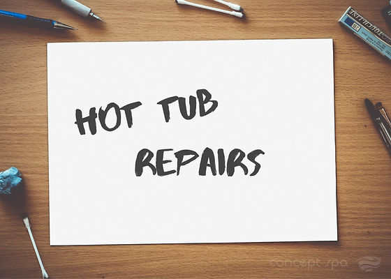 Hot tub repairs North Wales
