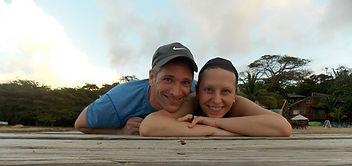 Couple in Roatan