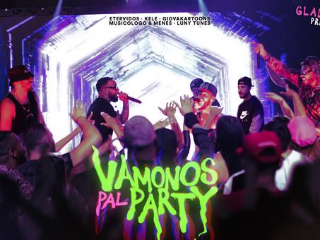 "Kele, Etervidos & Giovakartoons se unen a Musicologo, Menes & Luny Tunes en ""Vamonos Pal Party"""