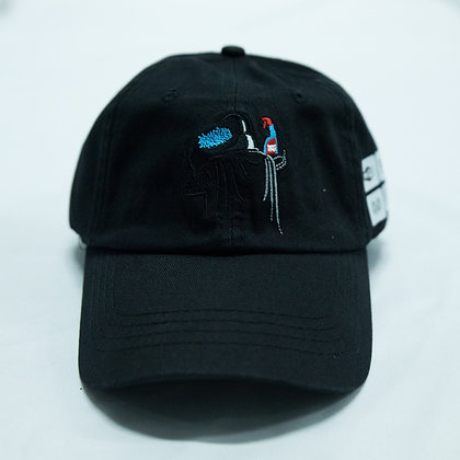 LA CIMA WEAR ARTIST BLACK DAD HAT