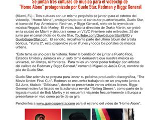 """Se juntan tres culturas de música para el videoclip de  """"Home Alone"""" protagonizado por Guelo Star, R"""