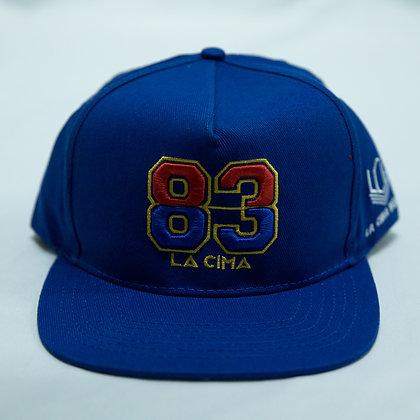 LA CIMA 83 BLUE SNAPBACK