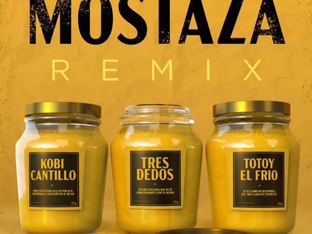 Tres Dedos, Totoy El Frio & Kobi Cantillo - Mostaza (REMIX)