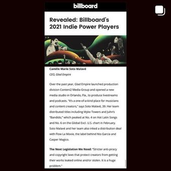 Billboard Power Players 2021