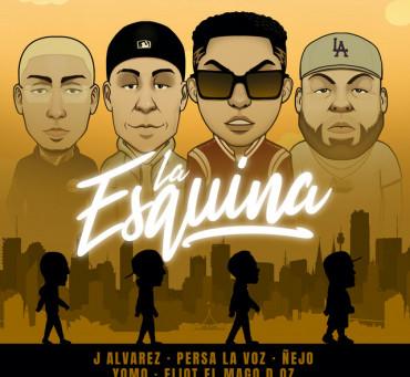 J Alvarez, Ñejo, Yomo, Persa La Voz, Eliot El Mago D' Oz - La Esquina