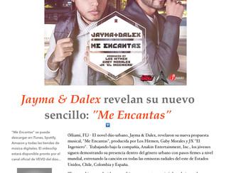 """Jayma & Dalex revelan su nuevo sencillo: """"Me Encantas"""""""