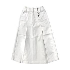 ボタンナップスカート