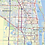 Thumbnail: Greater Miami Metro Area Laminated Wall Map